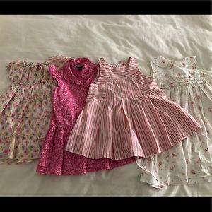 Lot of pretty 24m/2T toddler girls dresses